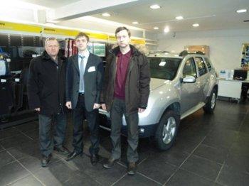 В России продан 50-тысячный Renault Duster