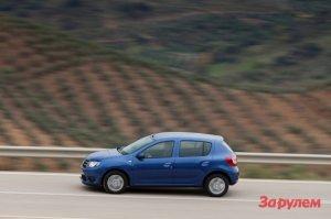 В цехах АВТОВАЗа обнаружили новый Renault Sandero