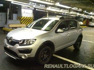Российские Renault Logan и Sandero Stepway