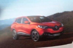 Новый кроссовер Renault Kadjar «сбежал» в Сеть