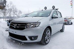 В Швеции тестируют Renault Sandero RS