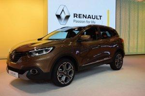 Renault Kadjar представили на автошоу