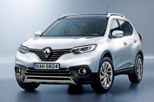 Семиместный кроссовер Renault: новые подробности