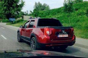 На дорогах Румынии появился четырехдверный Duster-пикап