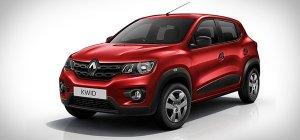 Хэтчбек Renault Kwid получит 57-сильный мотор