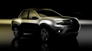 Renault Duster станет пикапом с двойной кабиной