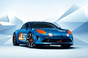 Renault представил концепт Alpine Celebration