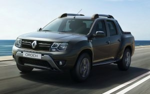 Renault Duster: теперь и пикап