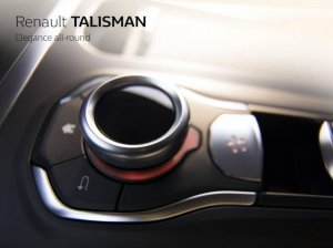 Renault позволила заглянуть в салон Talisman