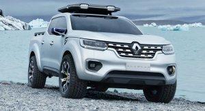 Новый пикап от Рено! Renault Alaskan