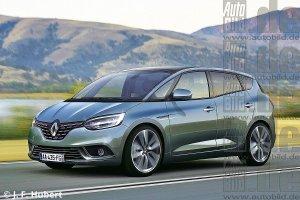 Раскрыта первая информация о новом Renault Scenic