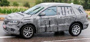 Новое поколение Renault Koleos заметили на тестах в Австралии