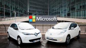 Компания Microsoft и альянс Renault−Nissan заключили союз