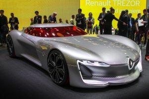 Рено (Renault) представила крутое спорткупе